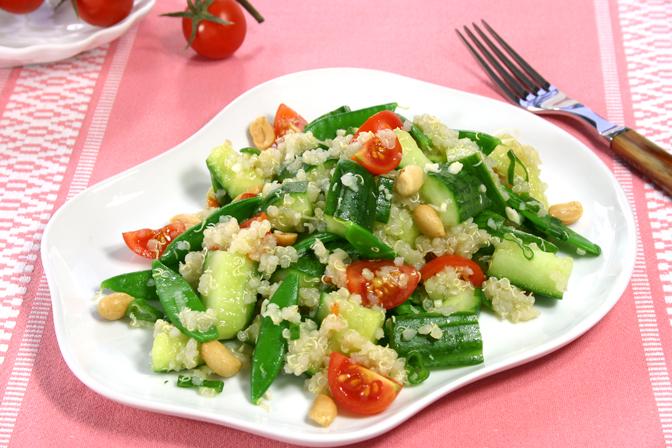 agurksalat-quinoa